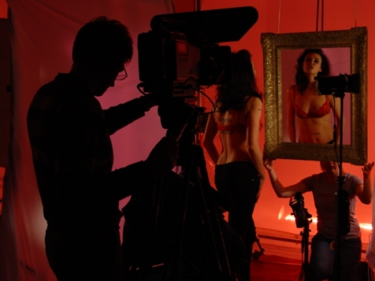 BBC trail on self image. Behind the Scenes