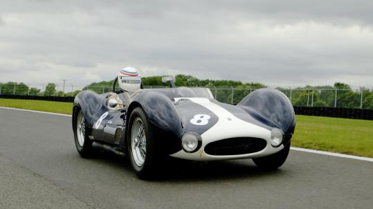 Classic car spot Maserati Birdcage