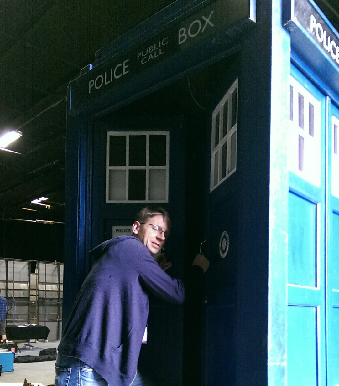 Fun in the Tardis