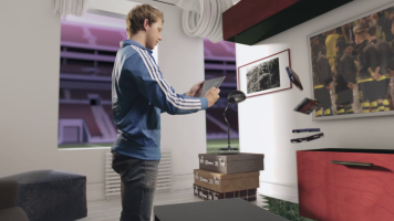 Screengrab from UEFA Commercial