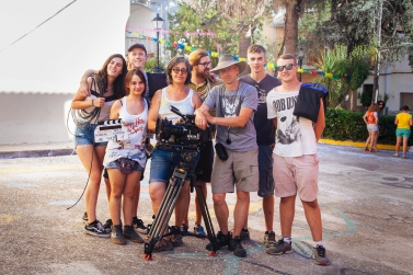 The rocking camera crew on wrap